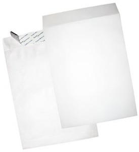 """Tyvek Open End Envelopes - 12"""" x 15-1/2"""", Plain, Sub 18"""