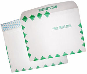 "Tyvek Open Side Envelopes - 6"" x 11 3/8"", First Class, Sub 14"