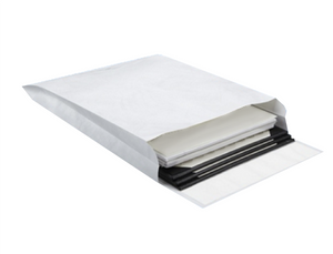 "Tyvek Catalog Expansion Envelopes - Plain, 9"" x 12"" x 2"", Sub14"