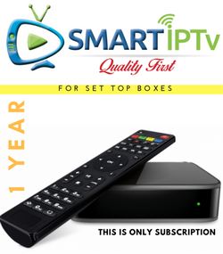 SMARTIPTV  For MAG (1 Year Subscription)