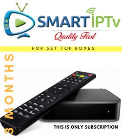 SMARTIPTV  For MAG (3 Months Subscription)