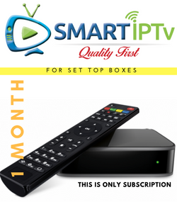 SMARTIPTV  For MAG (1 Months Subscription )