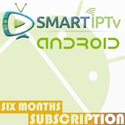 SMARTIPTV  For Android (6 Months Subscription)