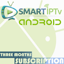 SMARTIPTV  For Android (3 Months Subscription)