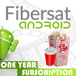 FIBERSAT For Android (1 Year Subscription not for USA)
