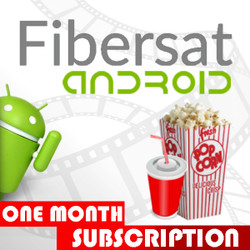 FIBERSAT For Android (1 month not for USA)
