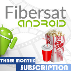 FIBERSAT For Android (3 month not for USA)