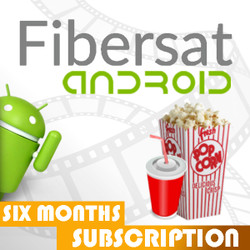 FIBERSAT For Android (6 months not for USA)