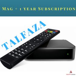 MAG254+ wireless+ 1 year Talfaza shipping include