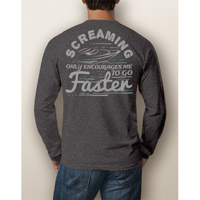 Men's Boating Long-Sleeve- NautiGuy Screaming