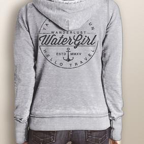Women's Full-Zip Hooded Fleece - WaterGirl Wanderlust