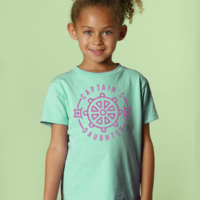 Toddler Boating T-Shirt- Captain's Daughter