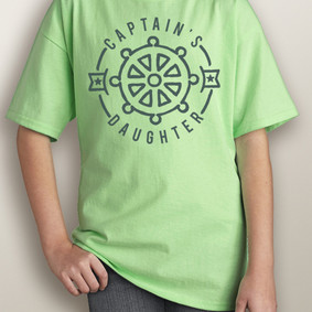 Youth Short-Sleeve- Captain's Daughter