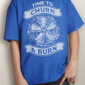Youth Short-Sleeve- Churn & Burn