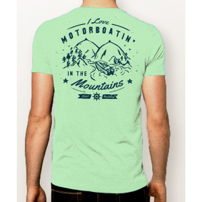 Men's Boating T-Shirt- NautiGuy Motorboatin