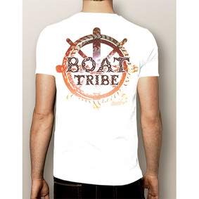Men's Boating T-Shirt - NautiGuy Boat Tribe (More Color Choices)