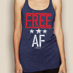 FREE AF Lightweight Racerback