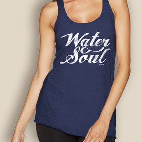 Boating Tank Top - WaterGirl Indigo Water Soul