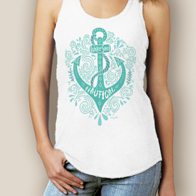 Bohemian Anchor Signature Racerback  (More Color Choices)
