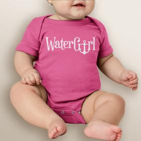 WaterGirl Logo Baby Bodysuit