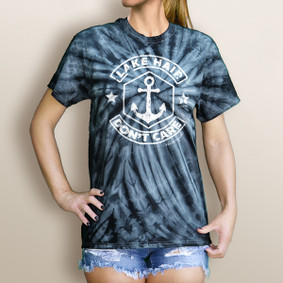 Women's Lake Hair Don't Care Tie Dye Tee
