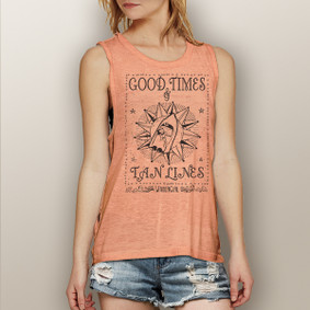 Good Times & Tan Lines -  Muscle Tank (more color choices)