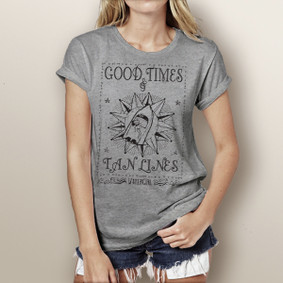 Good Times & Tan Lines - Watergirl T-Shirt (more color choices)