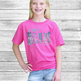 Youth Short- Sleeve- Part Mermaid