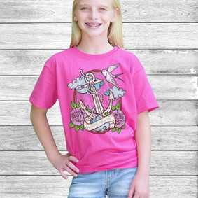 Youth Short- Sleeve-  Watergirl Tattoo
