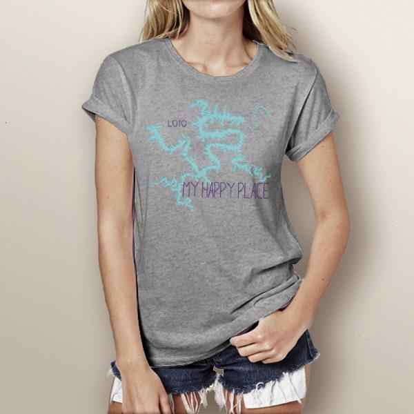 eb8ac6f6 My Happy Place LOTO Tri-Blend T-Shirt