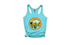 WaterGirl Sunshine & Lake Water Lightweight Racerback