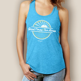 Good Times Tan Lines Signature Tri-Blend Racerback