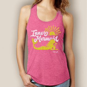 Inner Mermaid Signature Tri-Blend Racerback