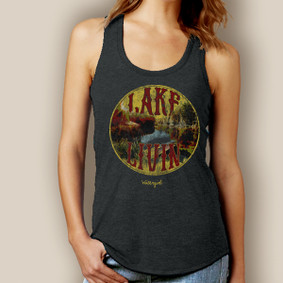 Lake Livin' Signature Tri-Blend Racerback