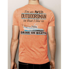Men's Boating T-Shirt - NautiGuy Avid Outdoorsman