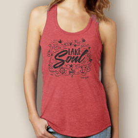 Lake Soul Signature Tri-Blend Racerback