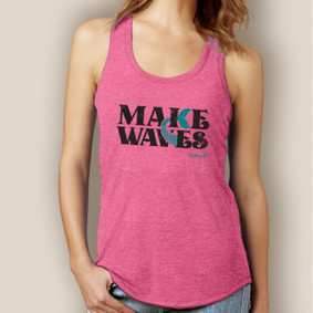 Make Waves Signature Tri-Blend Racerback