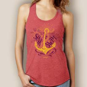 Sink or Swim Signature Tri-Blend Racerback