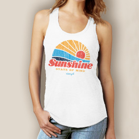 Sunshine State of Mind Signature Tri-Blend Racerback