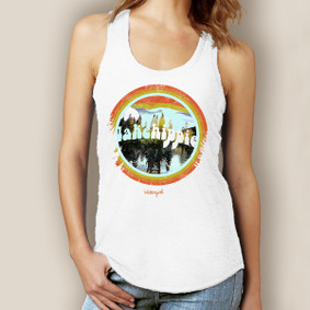Lake Hippie Tank-Signature Tri-Blend Racerback