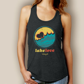 Lake Love Tank-Signature Tri-Blend Racerback