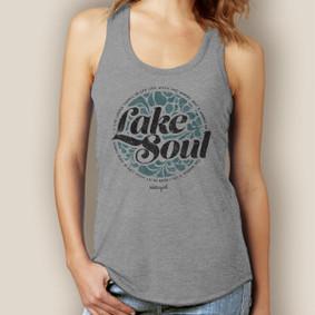 Lake Soul Tank-Signature Tri-Blend Racerback