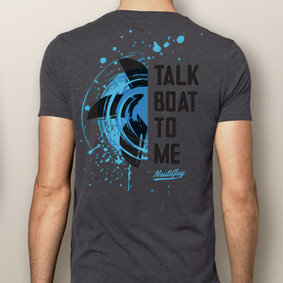 Men's Boating T-Shirt - Talk Boat To Me