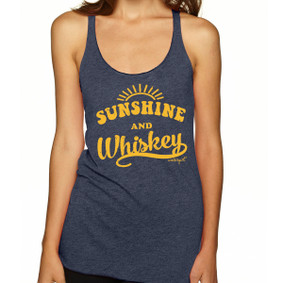 Sunshine and Whiskey -   Lightweight Racerback