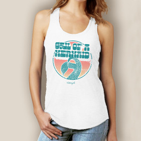 Soul of a Mermaid Tank-Signature Tri-Blend Racerback