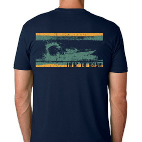 Men's Boating T-Shirt - Livin' the Dream