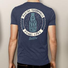 Men's Boating T-Shirt - No Bad Days