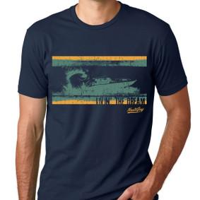 Men's Boating T-Shirt - Livin' the Dream (Front)