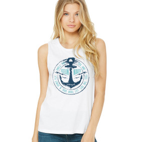 Boating Muscle Tank Top - Feeling Nauti