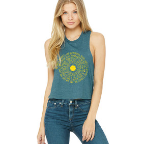 Spiral Song Lyrics  -  Crop Muscle Tank